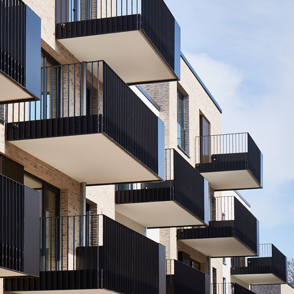 Balkone Quartiersentwicklung Süderfeld-Park