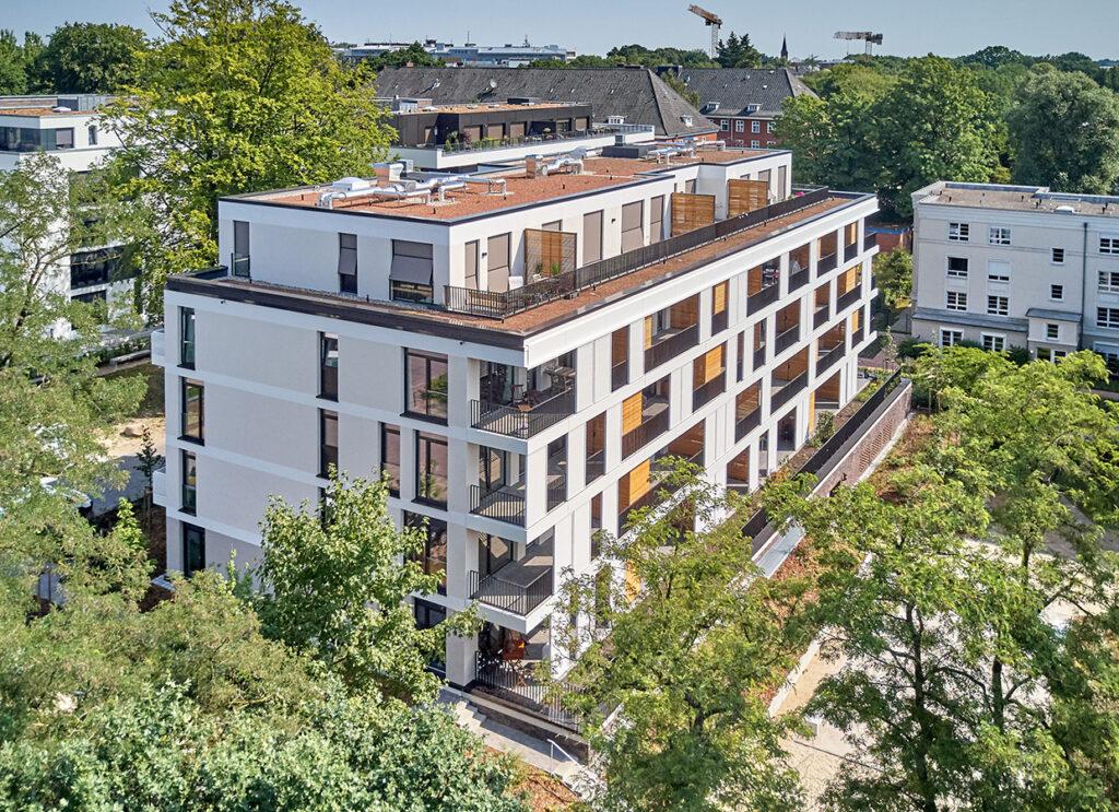 Wohngebäude Rotbuchenhain mit BHKW-Nahwärmeanschluss