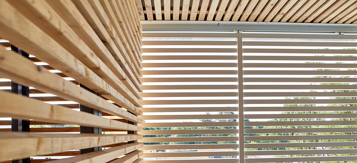 Nachhaltiger Loggia-Holzbau für das Projekt Rotbuchenhain