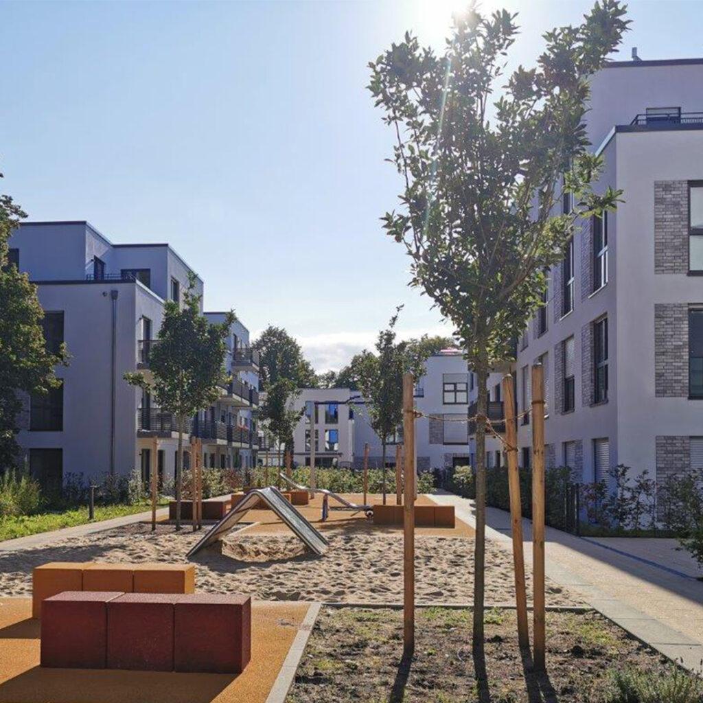 Kita, Studentenwohnungen und sozialer Wohnungsbau