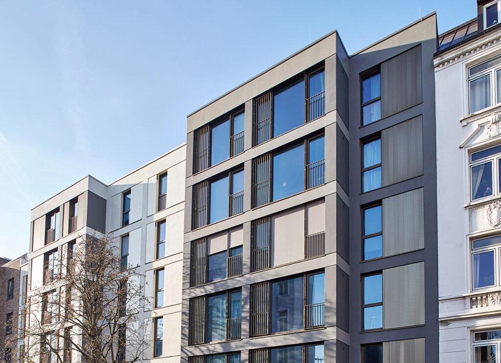 Neubau von Eigentumswohnungen in Eppendorf