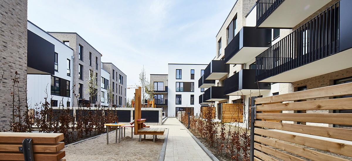 Quartier Süderfeld-Park mit eigener nahwärmeversorgung