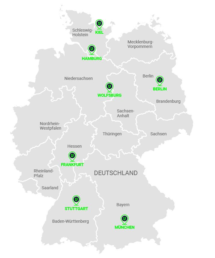 Projektregionen Urbainity