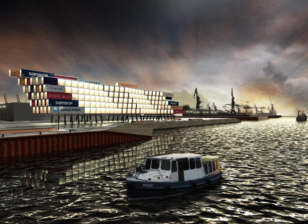 Visionäres Projekt im Hamburger Hafen