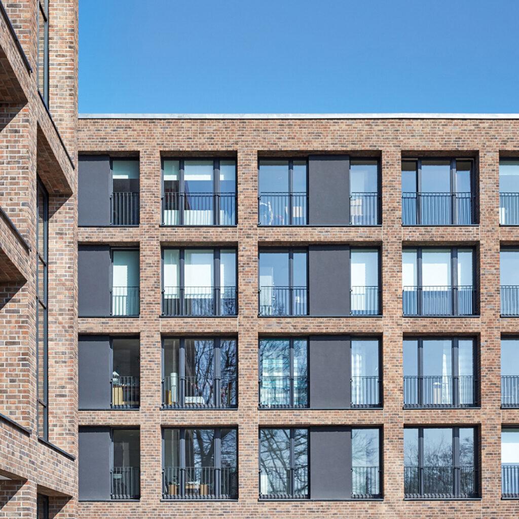 Geförderter sozialer Wohnungsbau bei der Quartiersentwicklung Alsterberg