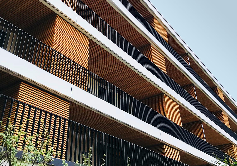 Eigentumswohnungen mit Holzbau von Urbainity